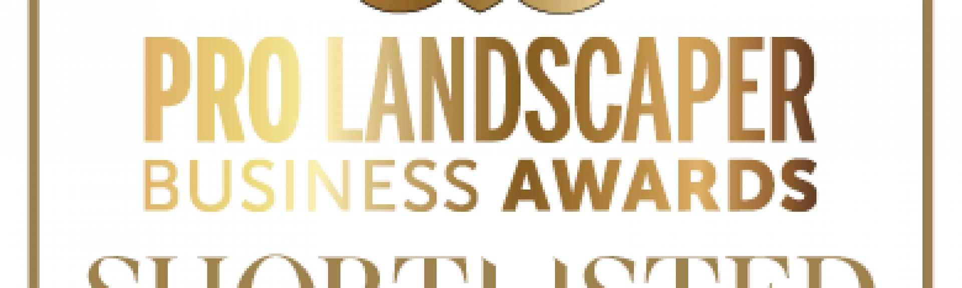 Pro Landscaper Business Awards shortlisted